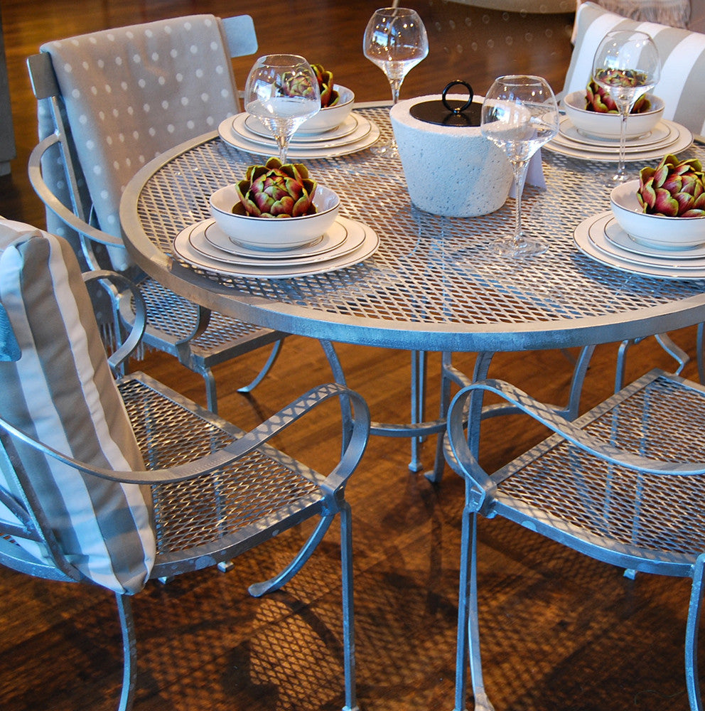 Horton Galvanised Table Setting