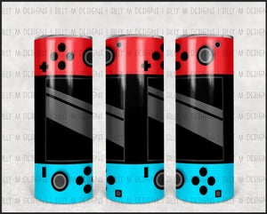 Switch Video Game Controller | Tumbler Wrap | JPG Digital Download | 20oz Sublimation | Waterslide