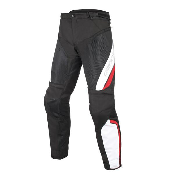 DAINESE DRAKE AIR D-DRY black/white/red textil nyári nadrág