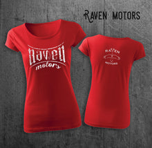 Load image into Gallery viewer, RAVEN Brand Red shirt