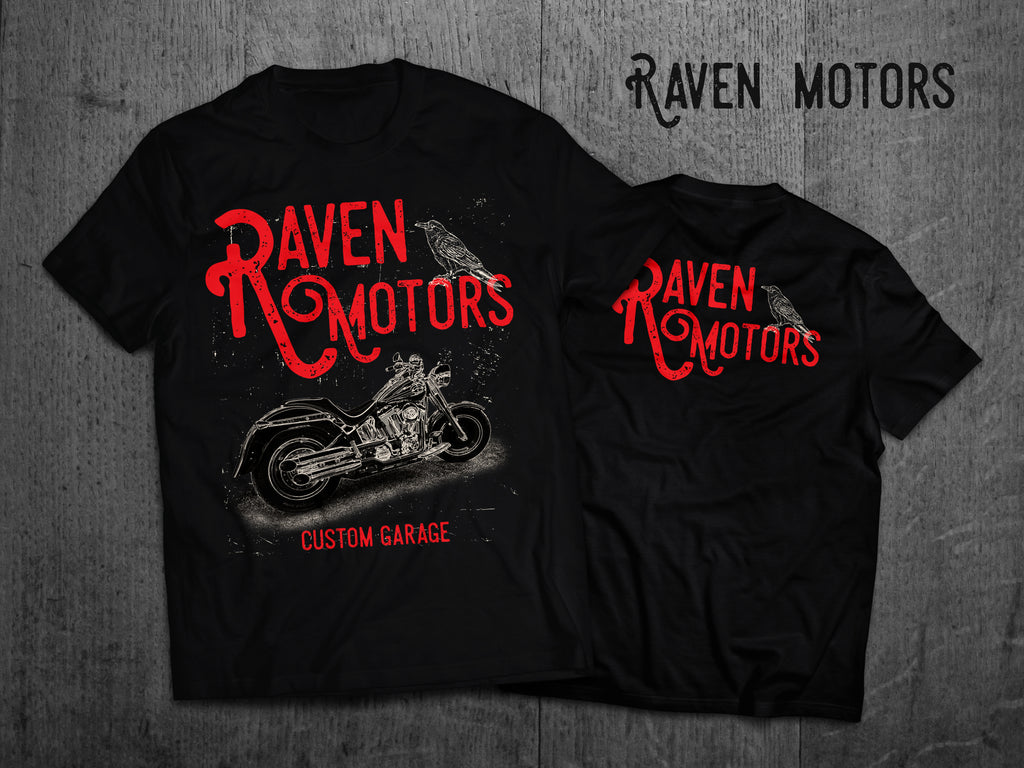 Biker póló by Raven Motors