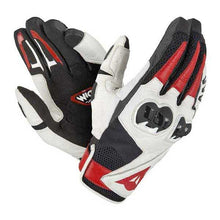 Load image into Gallery viewer, DAINESE Mig C2 black/white/lava-red kesztyű