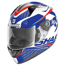 Load image into Gallery viewer, SHARK RIDILL STRATOM WBR white/blue/red bukósisak