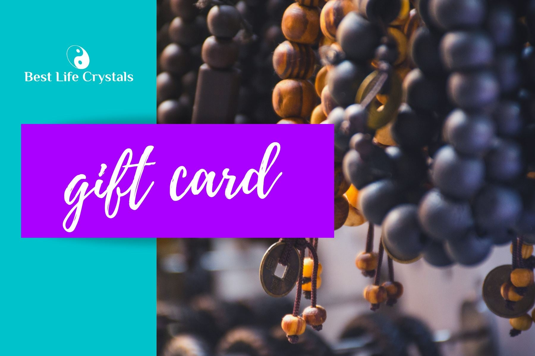 Best Life Crystals Gift Card $50 - Best Life Crystals