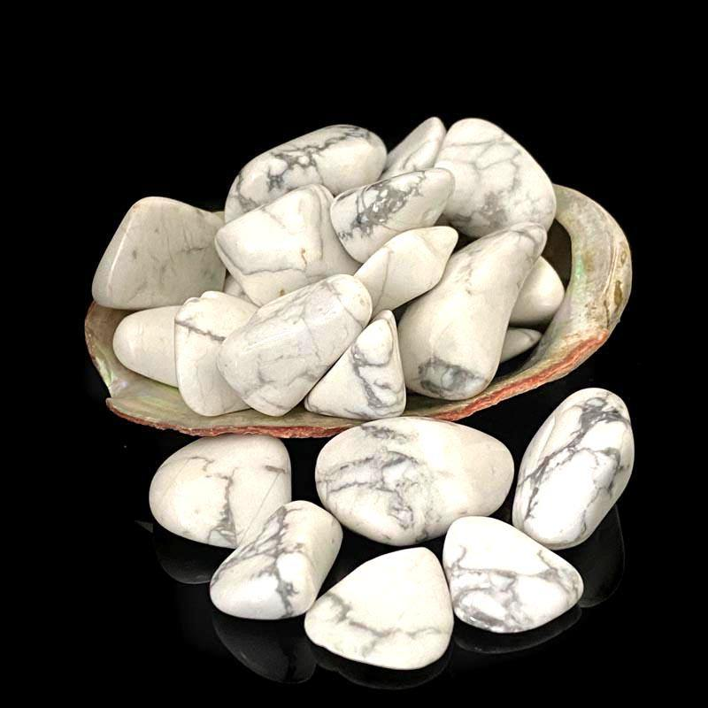 Tumbled White Howlite - Best Life Crystals