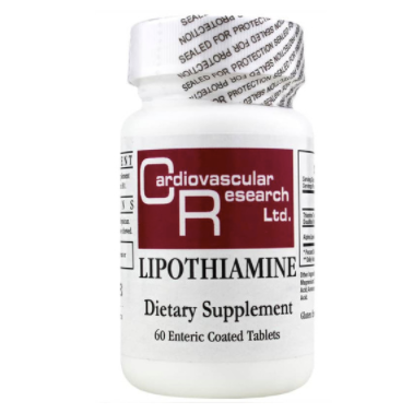 Lipothiamine Vitamin B1 (60 Tablets)