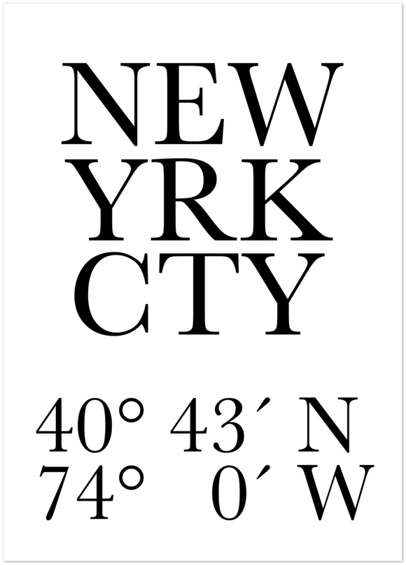 New York City No 1