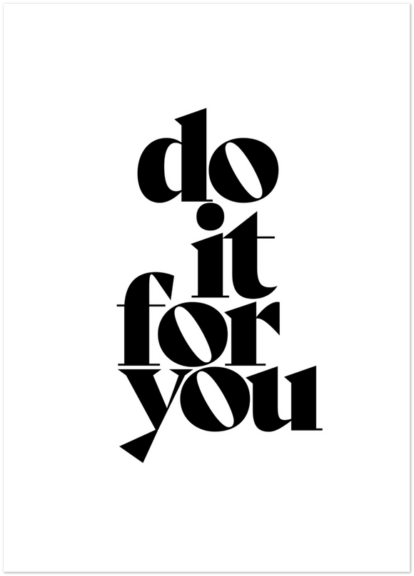 do it for you Poster