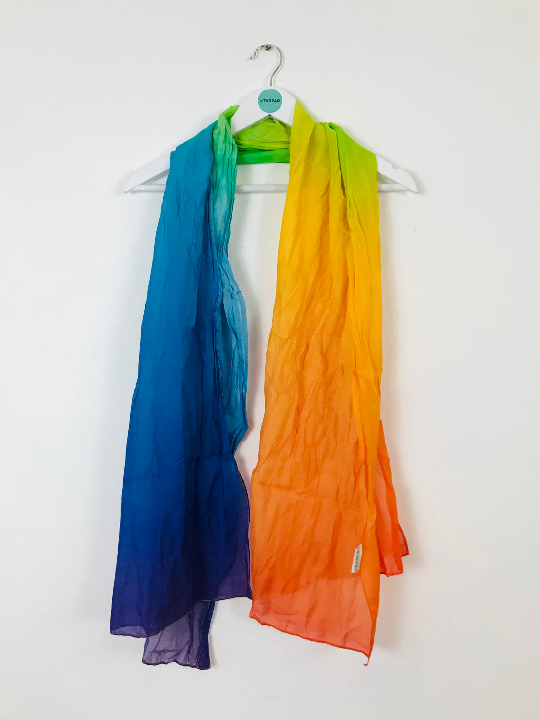 "Sence Copenhagen Womens Rainbow Scarf | W26"" L72"" 