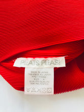 Load image into Gallery viewer, Issey Miyake Pleats Please Fringe Tank Top | 4 | Red
