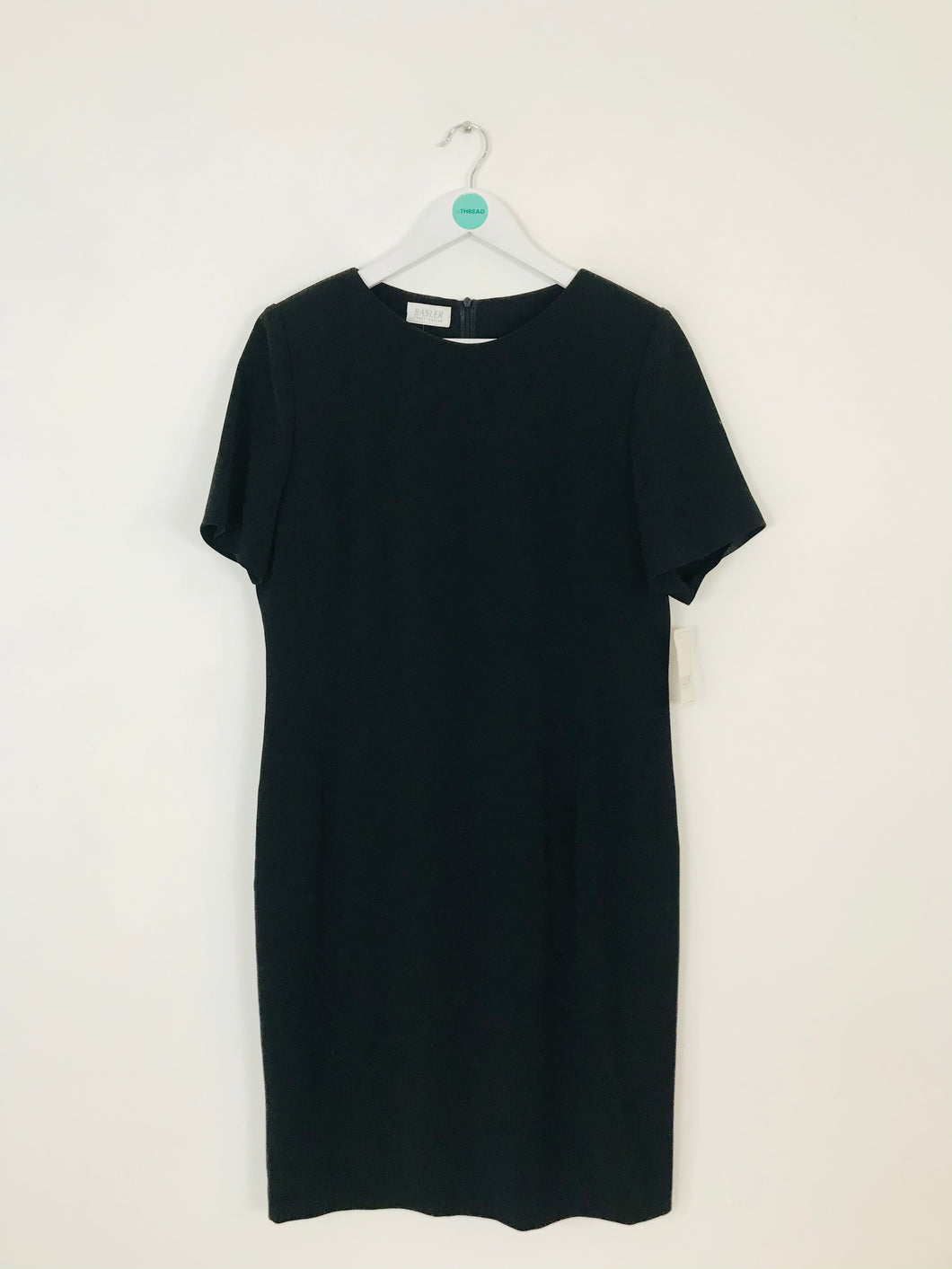 Basler Women's Boxy Midi Shift Dress NWT | 40 UK14 | Black