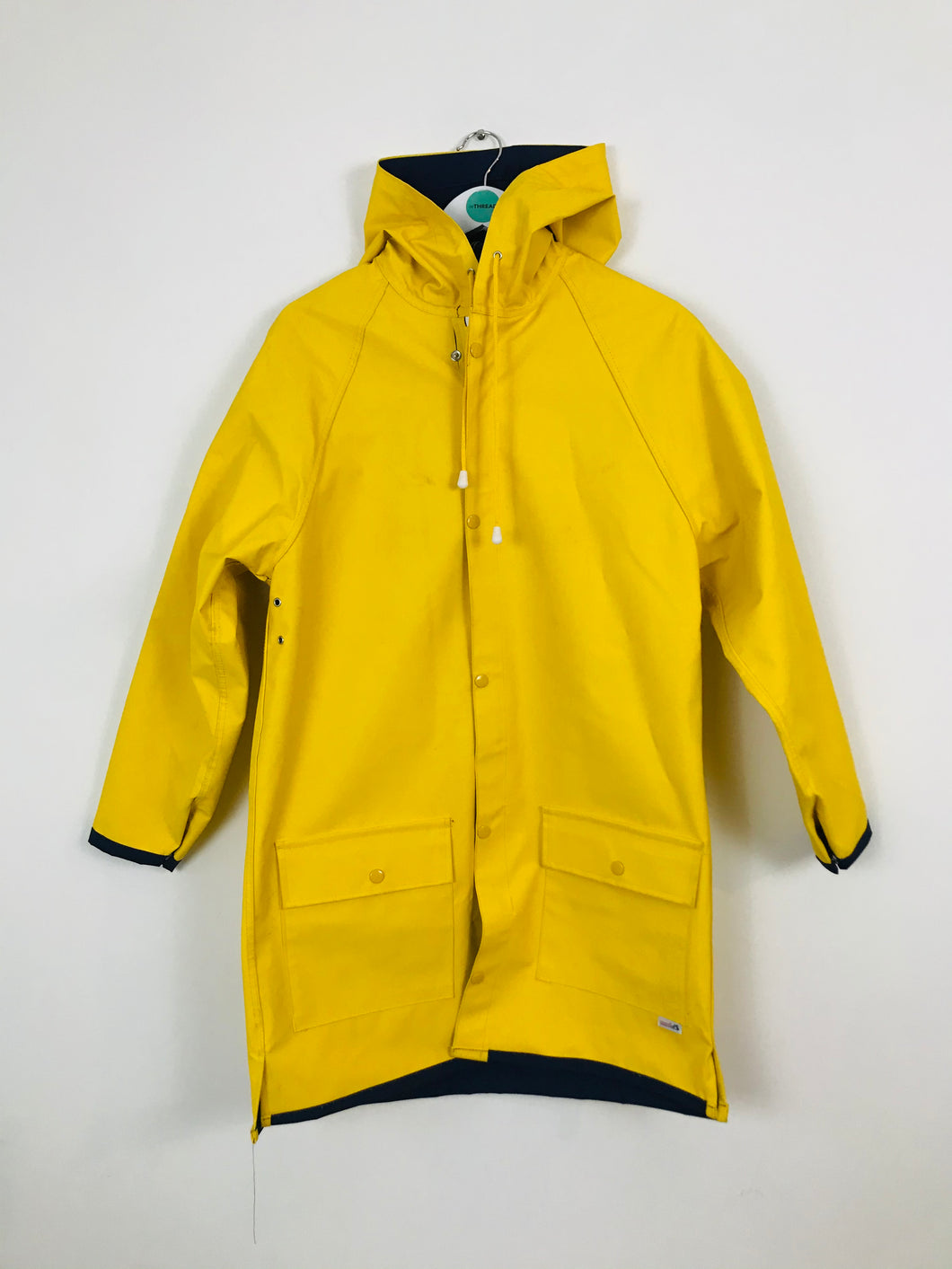 Modas Vintage Fisherman's Rain Coat Jacket | L UK12-14 | Yellow