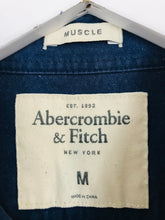 Load image into Gallery viewer, Abercrombie & Fitch Men's Long Sleeve Shirt | M | Navy Blue