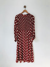 Load image into Gallery viewer, Zara Women's Polka Dot Maxi Dress | M UK10-12 | Red