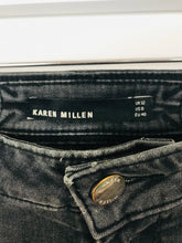 Load image into Gallery viewer, Karen Millen Womens Skinny Jeans | UK12 W32 L30 | Washed Black