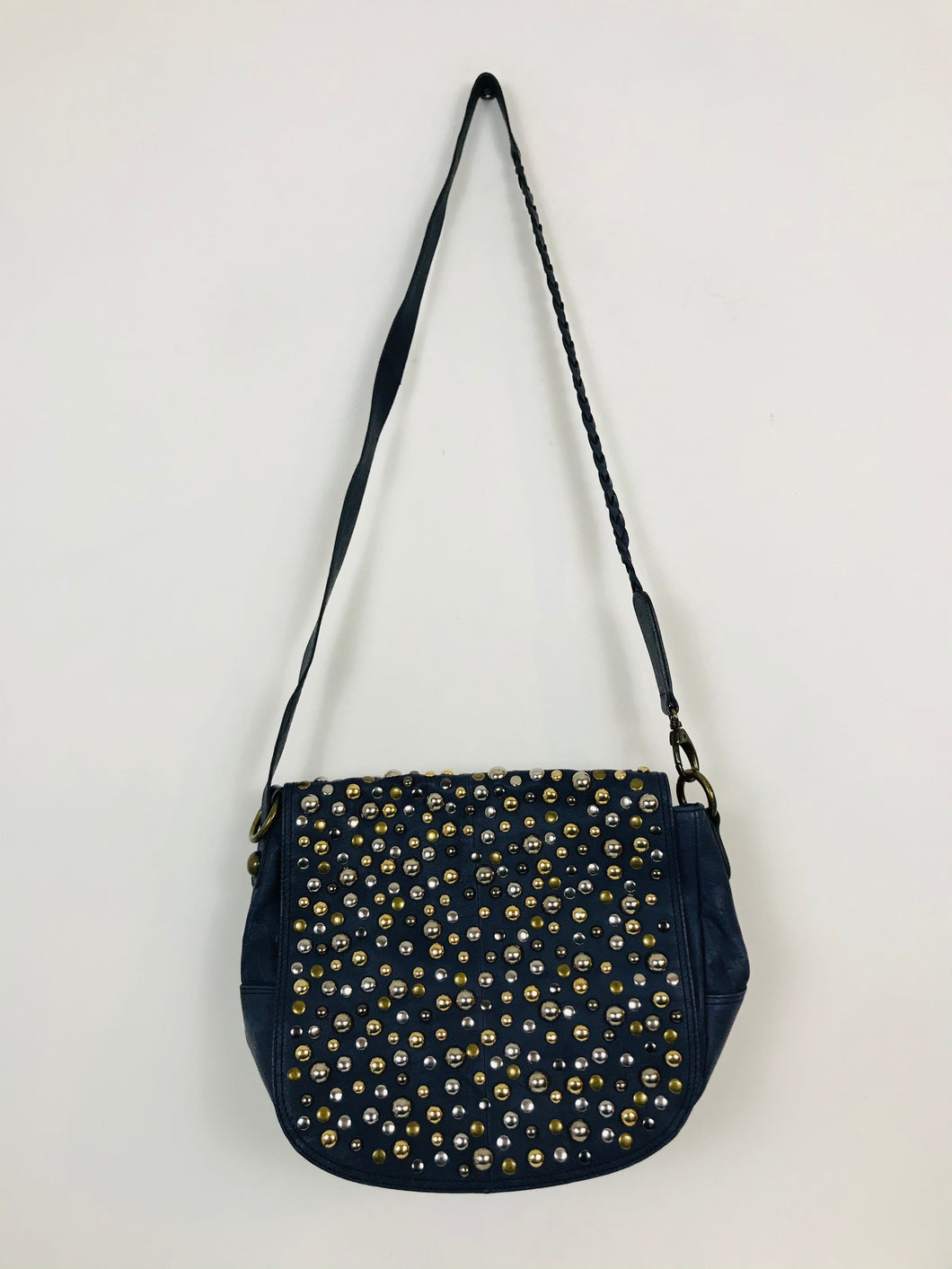 Brampton Women's Embellished Crossbody Bag | Medium | Blue