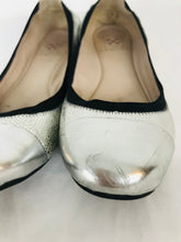 Load image into Gallery viewer, Vince Camuto Women's Slip-On Ballet Shoes | 36 1/2 UK3.5 | Silver