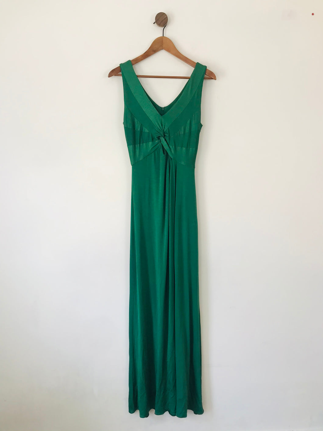 Phase Eight Women's Elegant Twist Maxi Dress | UK10 | Green