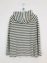 Load image into Gallery viewer, Toast Women's Oversized Stripe Hoodie | UK 16 | Navy and Cream