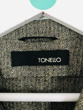 Load image into Gallery viewer, Tonello Women's Blazer Suit Jacket | 46 UK14 | Grey