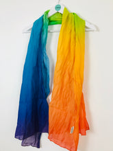 "Load image into Gallery viewer, Sence Copenhagen Womens Rainbow Scarf | W26"" L72"" 