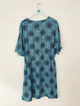 Load image into Gallery viewer, Boden Women's Button Up Floral A-Line Dress NWT | UK16 | Blue