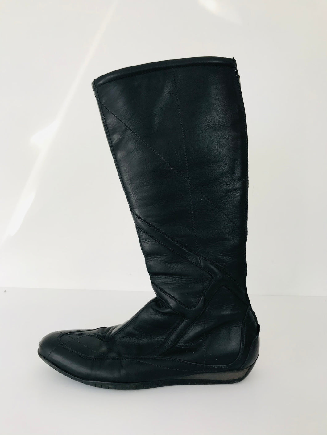 Flexa Fratelli Rosetti Women's Leather Knee Boots | UK5 | Black