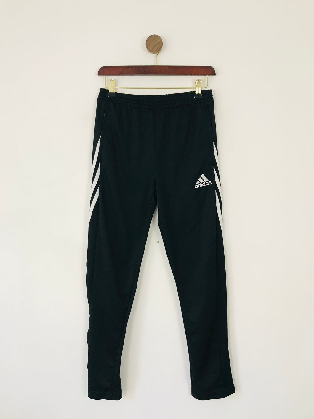 Adidas Youth Joggers Tracksuit Bottoms | YXL 13-14Y | Black