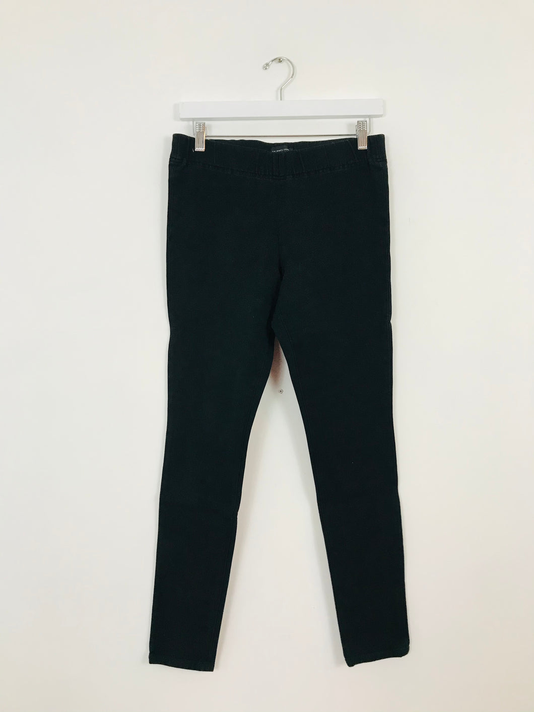 The White Company Women's Jeggings Jeans Leggings | UK10-12 | Black