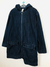 Load image into Gallery viewer, Edit Womens Oversized Denim OverCoat | UK12 | Blue