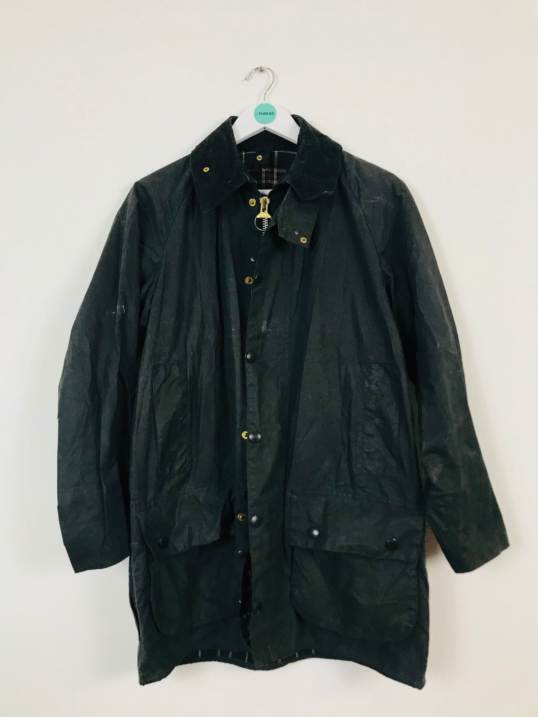 Barbour Mens Waxed Jacket | M | Dark Green