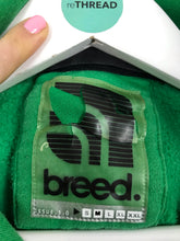 Load image into Gallery viewer, Breed Men's Retro Logo Hoodie | M | Green