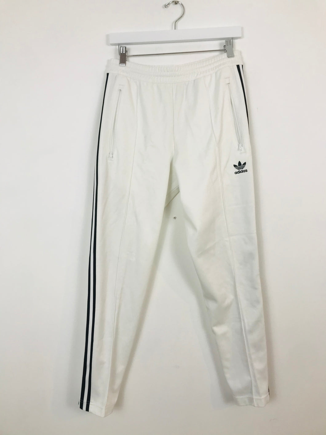 Adidas Mens Tracksuit Bottoms | S | White