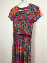 Load image into Gallery viewer, Lauren Ralph Lauren Womens Fit & Flare Knee Length Dress | XS UK6-8 | Multicolour