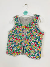 Load image into Gallery viewer, Boden Kids Floral Gilet | 2-3 Years | Multicoloured