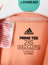 Load image into Gallery viewer, Adidas Youth Climalite Sports Prime Tee | 5-6 Years| Peach Orange