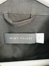 Load image into Gallery viewer, Mint Velvet Women's Military Style Jacket | UK12 | Dark Grey