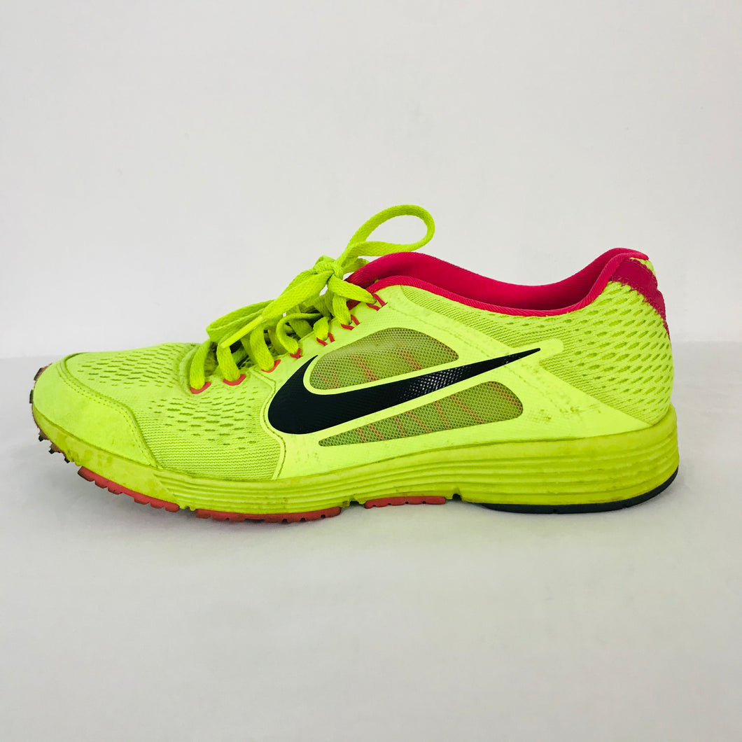 Nike Unisex LunarSpider Running Trainers | UK6.5 | Neon Yellow