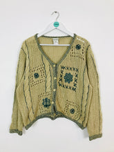 Load image into Gallery viewer, East Women's Cottage Style Knitted Cardigan | UK 12-14 M/L | Brown