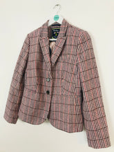 Load image into Gallery viewer, Boden Womens British Tweed Blazer | UK 12 | Pink