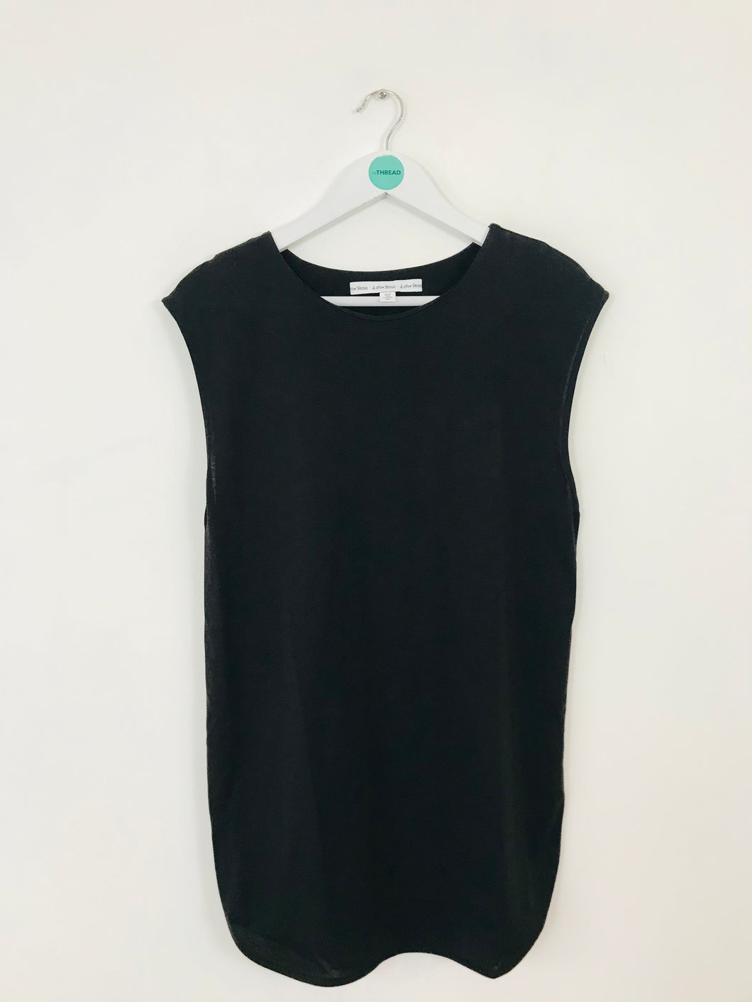 & Other Stories Women's Oversized Tank Top | UK10 | Black
