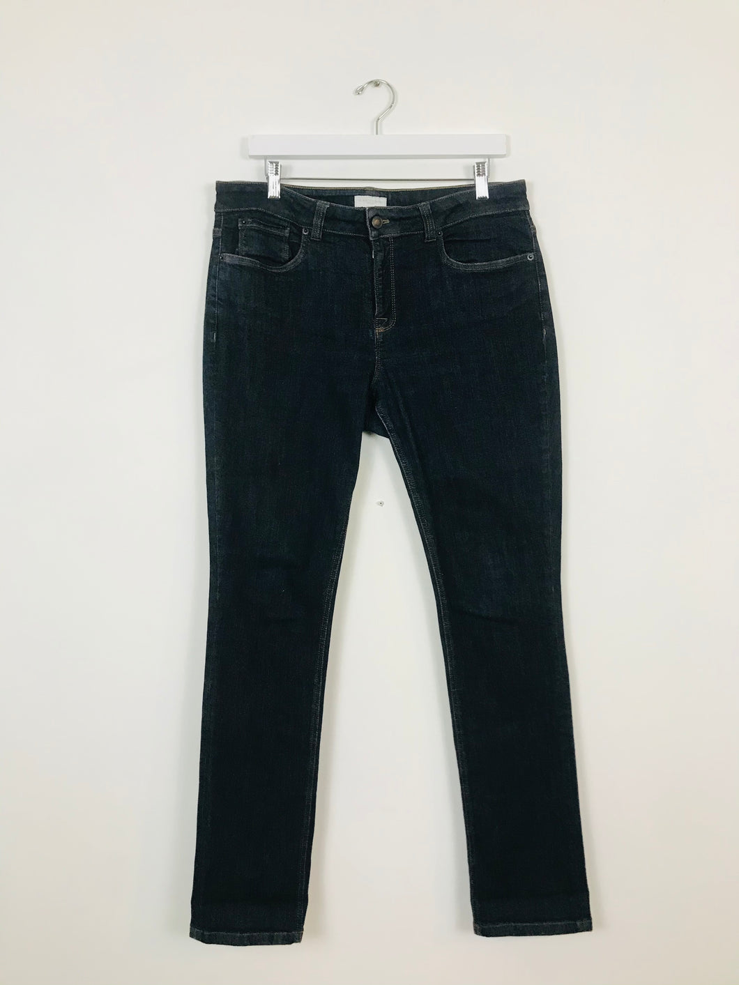 The White Company Women's Straight Jeans | UK14 | Blue