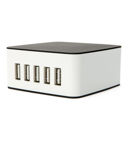 Cubelets 5-port USB Charger