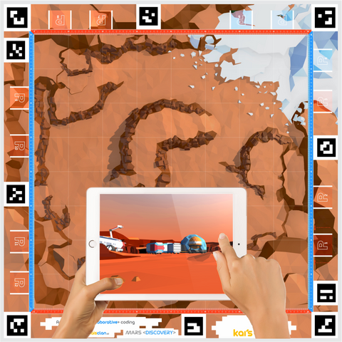Mars Discovery AR-VR Adventure Mat