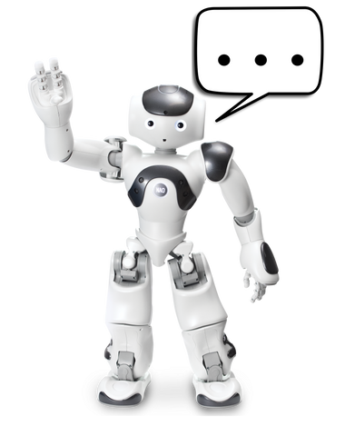 NAO Robot Customized Greeting