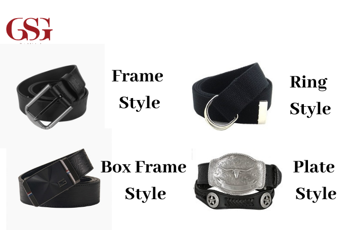 Style Of Belt And Buckle
