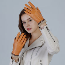 Load image into Gallery viewer, winter leather gloves