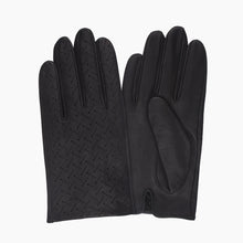 Load image into Gallery viewer, mens black leather gloves
