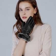 Load image into Gallery viewer, cashmere lined leather gloves