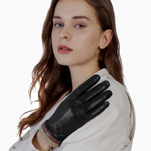 Load image into Gallery viewer, women's leather gloves